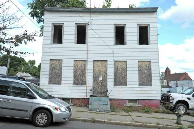 A view of a building on Sherman St. between Lexington Ave. and Henry Johnson Blvd. seen here on Wednesday, Sept. 19, 2012 in Albany, NY.   (Paul Buckowski / Times Union) Photo: Paul Buckowski