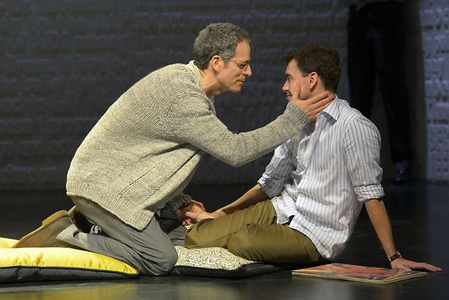 "Ned (Patrick Breen, left) and Felix (Matt McGrath) are lovers in ""The Normal Heart."" Photo: Kevin Berne, ACT"