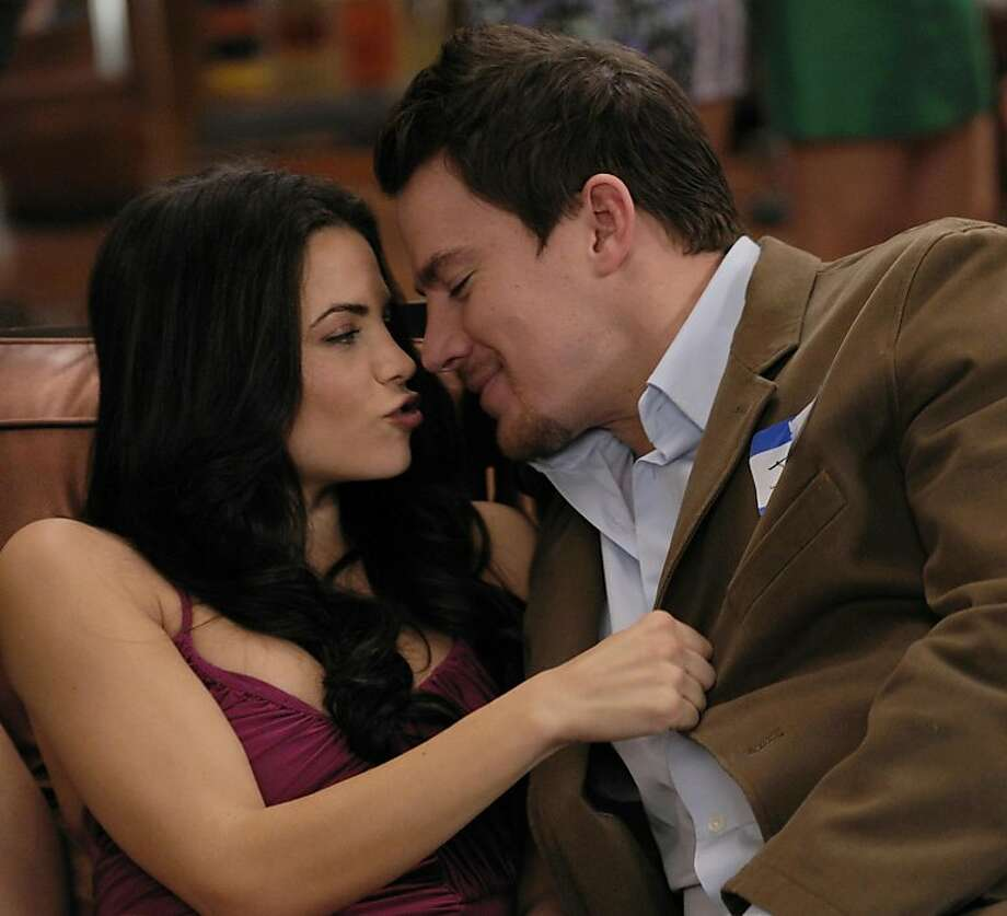 """Jenna Dewan-Tatum plays the girlfriend of a young man who was popular in high school, played by her real-life husband, Channing Tatum, in """"10 years."""" Photo: Colleen Hayes, Anchor Bay Films"""