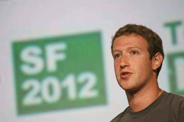 Mark Zuckerberg Photo: Kimihiro Hoshino, AFP/Getty Images