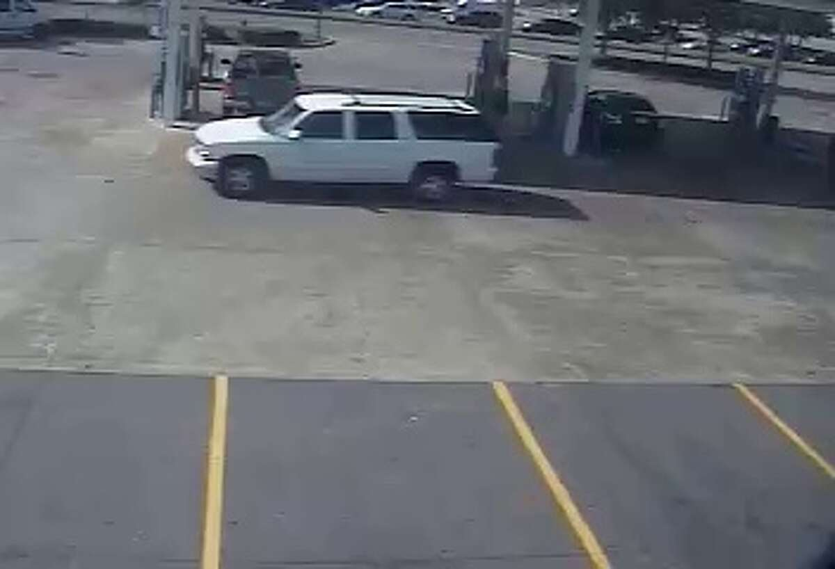 The suspects were seen this white SUV. (FBI photo)