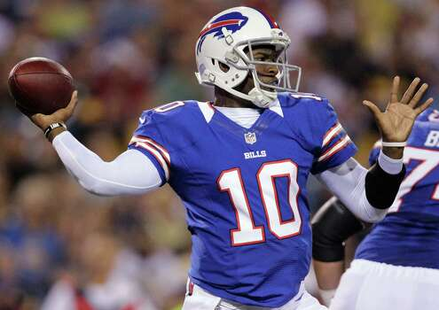2012Vince Young signed with the Bills in May. The team released him after its third preseason game. Photo: Gary Wiepert, Associated Press / FR170498 AP
