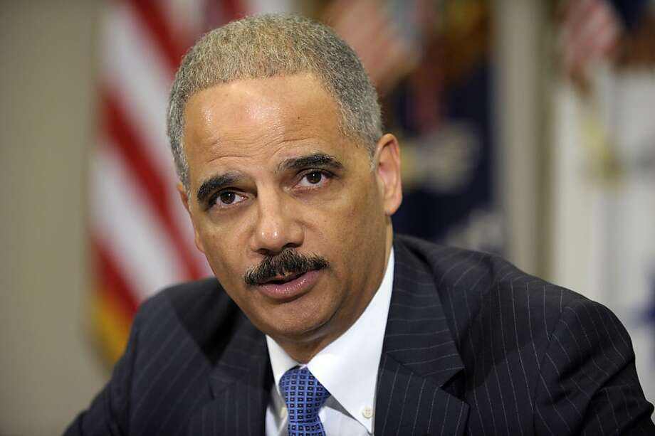 Attorney General Eric Holder's staff was sharply criticized. Photo: Susan Walsh, Associated Press