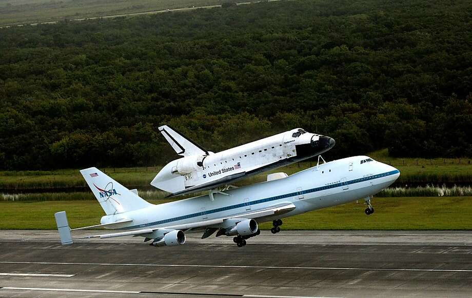 Endeavour takes off on its final flight from Florida. Photo: Nasa, Getty Images