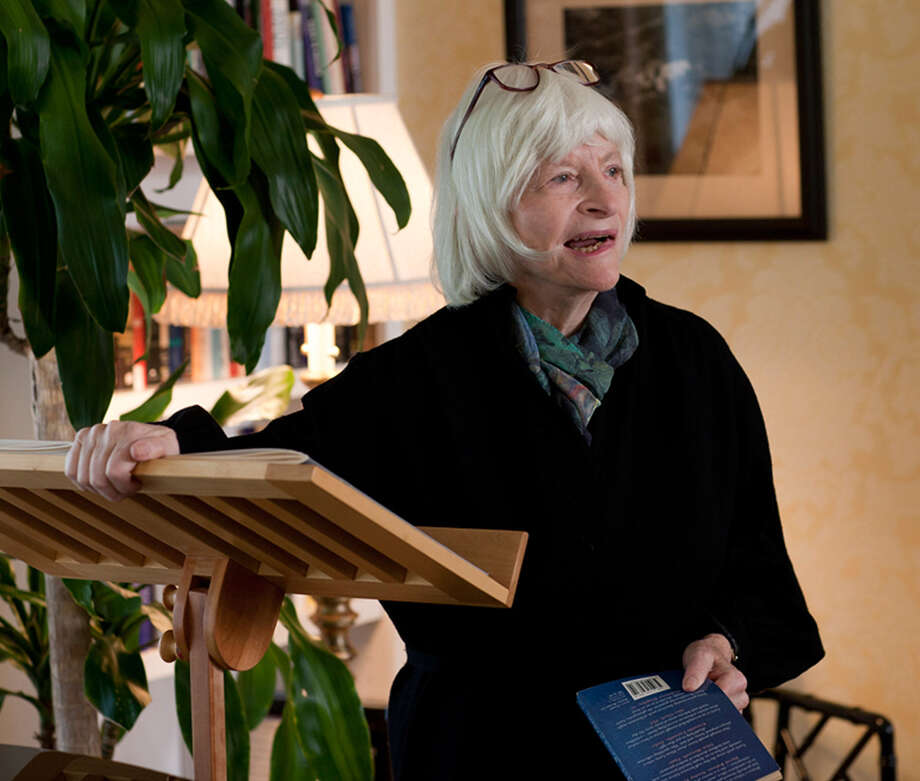 Pulitzer Prize-winning novelist Alison Lurie, Oct. 28, 2011. (Cornell University Media Collection) Photo: Robert Barker (University Photog / © Cornell University Photography