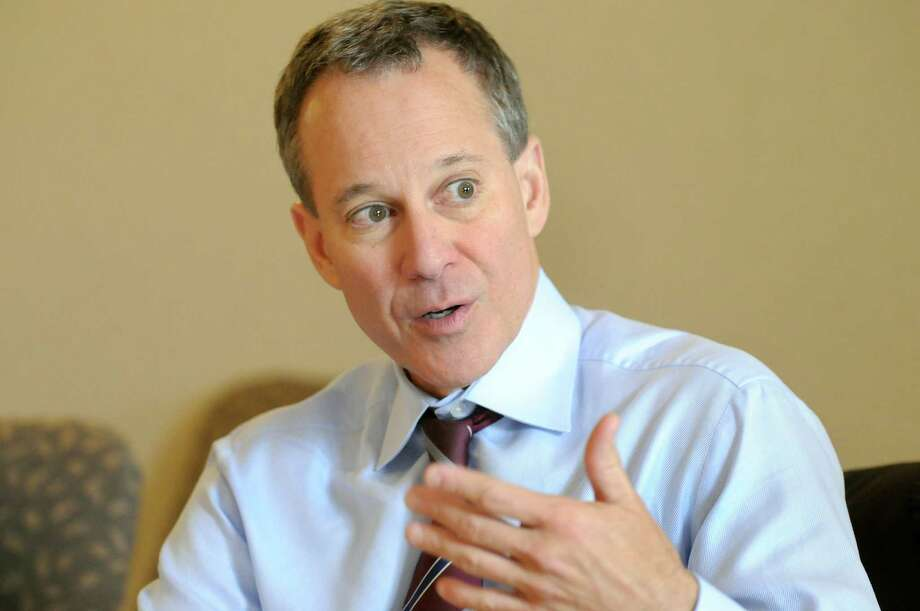 Attorney General Eric Schneiderman speaks during an editorial board meeting on Thursday, Nov. 3, 2011, at the Times Union in Colonie, N.Y. (Cindy Schultz / Times Union) Photo: Cindy Schultz / 00015232A