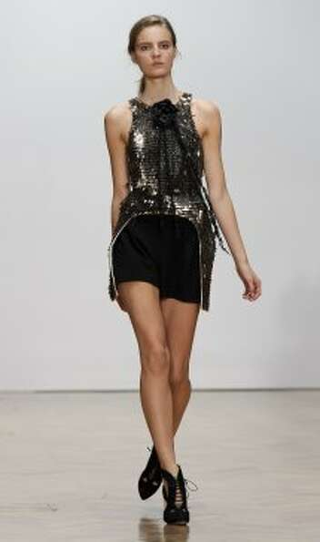 A model wears a design from the Sass & Bide collection. (ASSOCIATED PRESS)
