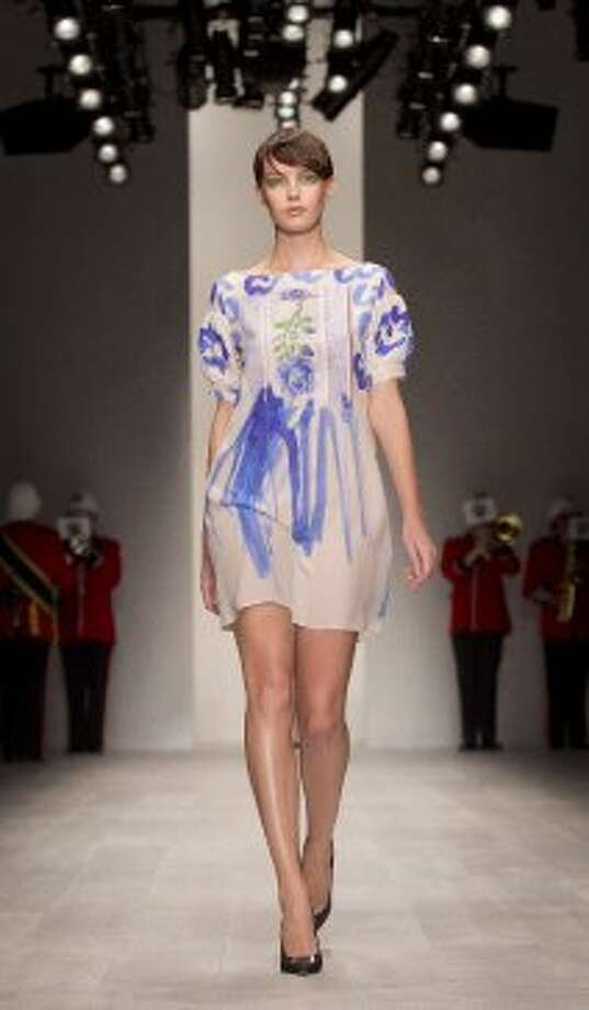 A model wears a design from the Antoni and Alison collection. (ASSOCIATED PRESS)