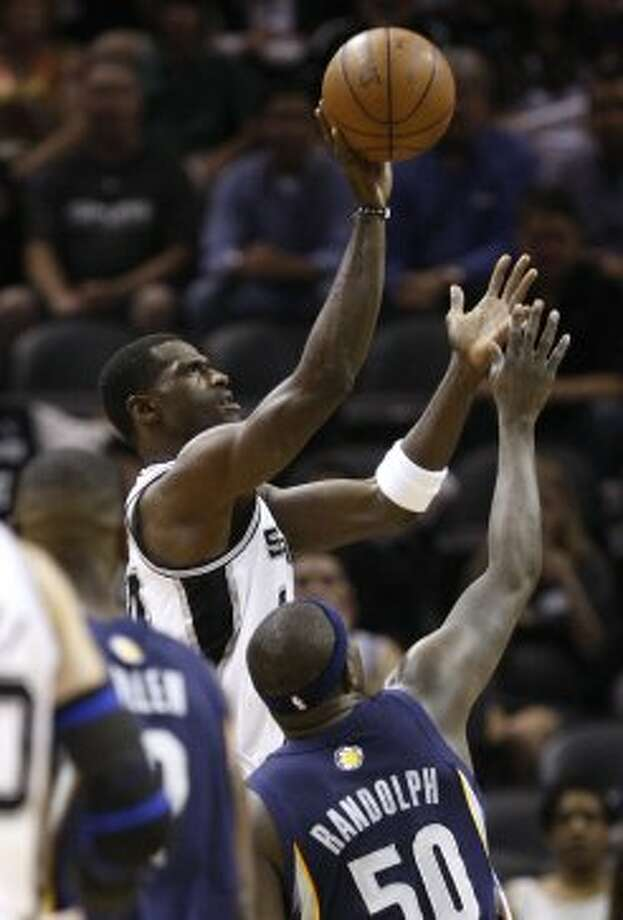 Antonio McDyessAcquired July 10, 200935 years old at start of season13-year veteran (NBA career began in 1995 with Denver; did not play in NBA 2002-03)With Spurs: 2009-11Last season: 2010-11Career highs: 21.1 pts, 1998-99, Denver, and 12.1 reb, 2000-01, Denver.Best with Spurs: 5.8 pts and 5.9 reb, 2009-10.Best after Spurs: Did not play. (JERRY LARA / San Antonio Express-News)