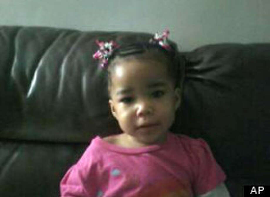 This image provided by Michigan Amber Alert via The Detroit News shows Bianca Jones, 2 years old, in 2011. Her father, D'Andre Lane, claimed Bianca was kidnapped in December 2011 during a carjacking. Prosecutors allege that Lane killed his daughter, whose body has not been found. His trial began on Sept. 19, 2012 in Wayne County Circuit Court. (AP Photo/Michigan Amber Alert via The Detroit News) Photo: AP, HOPD / Michigan Amber Alert via The Det