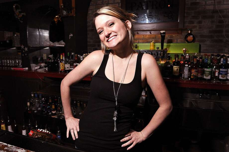 You can find Kayln Pedigo behind the bar at Tequila Rok, located on Crockett Street, making the best Soco and Lime shots one could ask for.Photo taken: Randy Edwards/The Enterprise