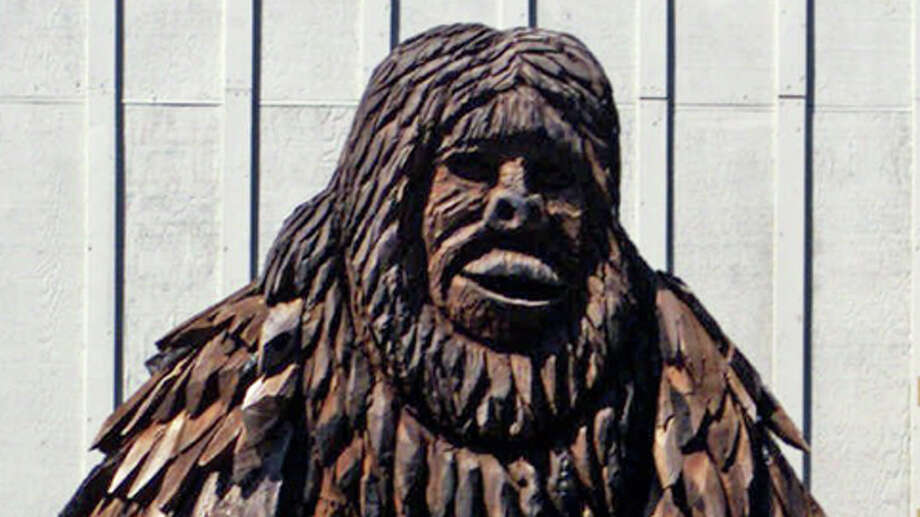 A two-story high statue of Bigfoot stands outside the 'Bigfoot Wing' of the Willow Creek-China Flat Museum in Willow Creek, Calif. Photo: RICH PEDRONCELLI, . / AP