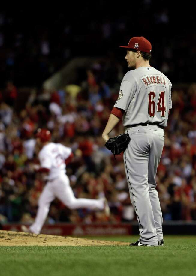 Sept. 19: Cardinals 5, Astros 0A day after reaching 100 losses, the Astros were shut out by the Cardinals.Record: 48-101. Photo: Jeff Roberson, Associated Press / AP