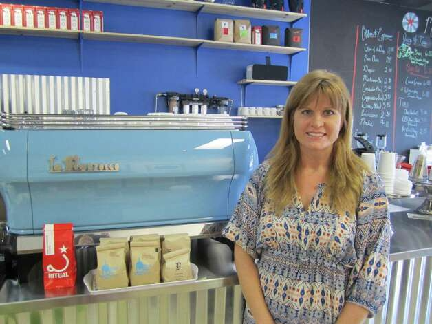 Angela Carral, owner of Revolucion Coffee + Juice.
