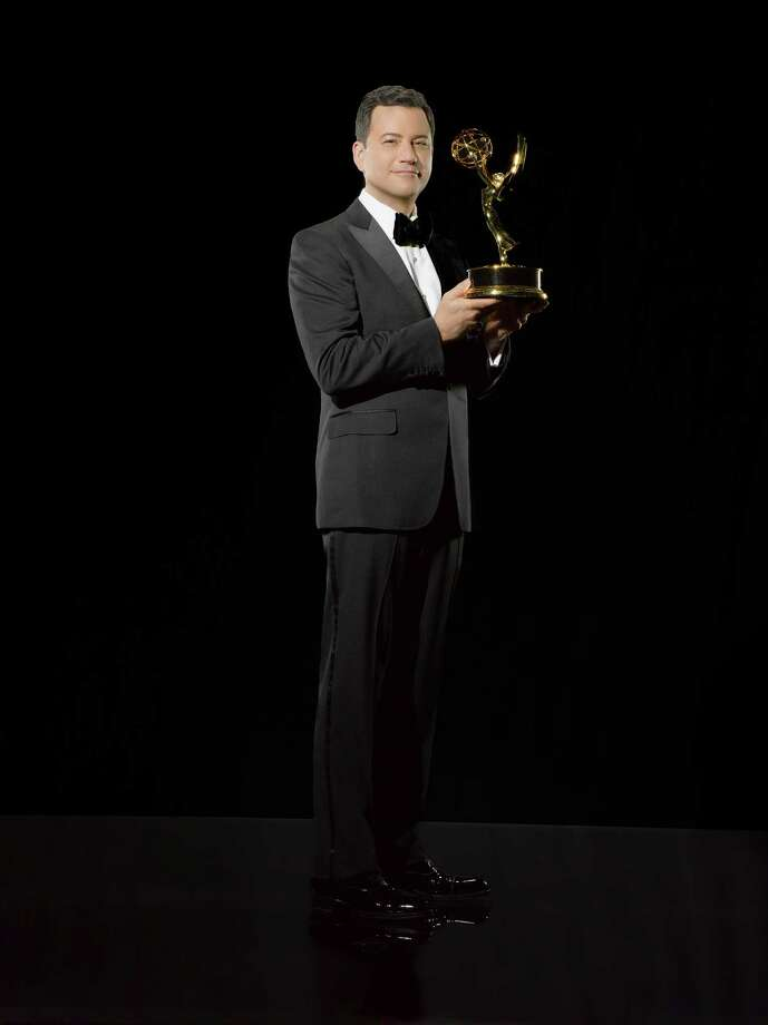 Jimmy Kimmel hosts tonight's Emmy Awards for the first time. ABC