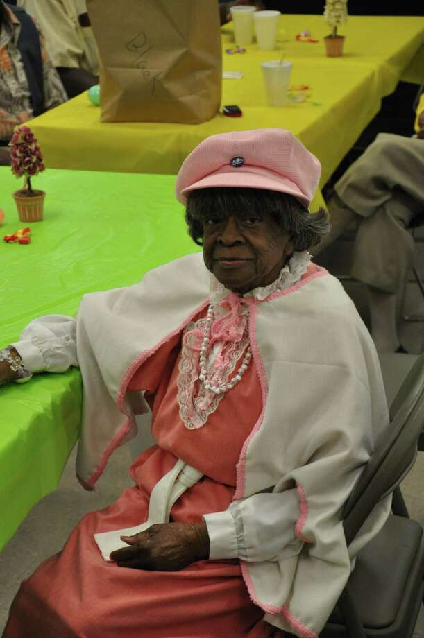 SOCIAL BUTTERFLY: Minnie Black has been living alone for years, but she's never lonely, thanks to The Friendship Center.