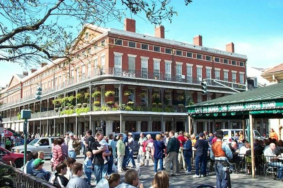 #2. New Orleans. Expect plenty of cups and cans and bottles on the ground later. Photo: ustinsomnia.org/Wikimedia  Commons