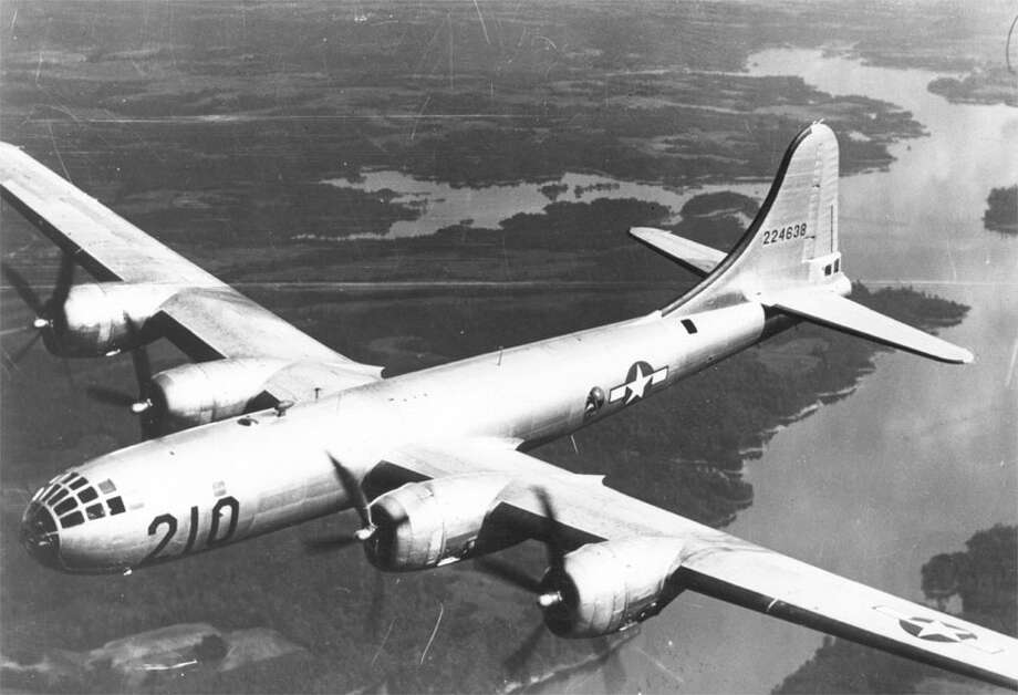 The Boeing Model 345 prototype for the B-29 first on Sept. 21, 1942. Photo: U.S. Air Force Historical Research Agency