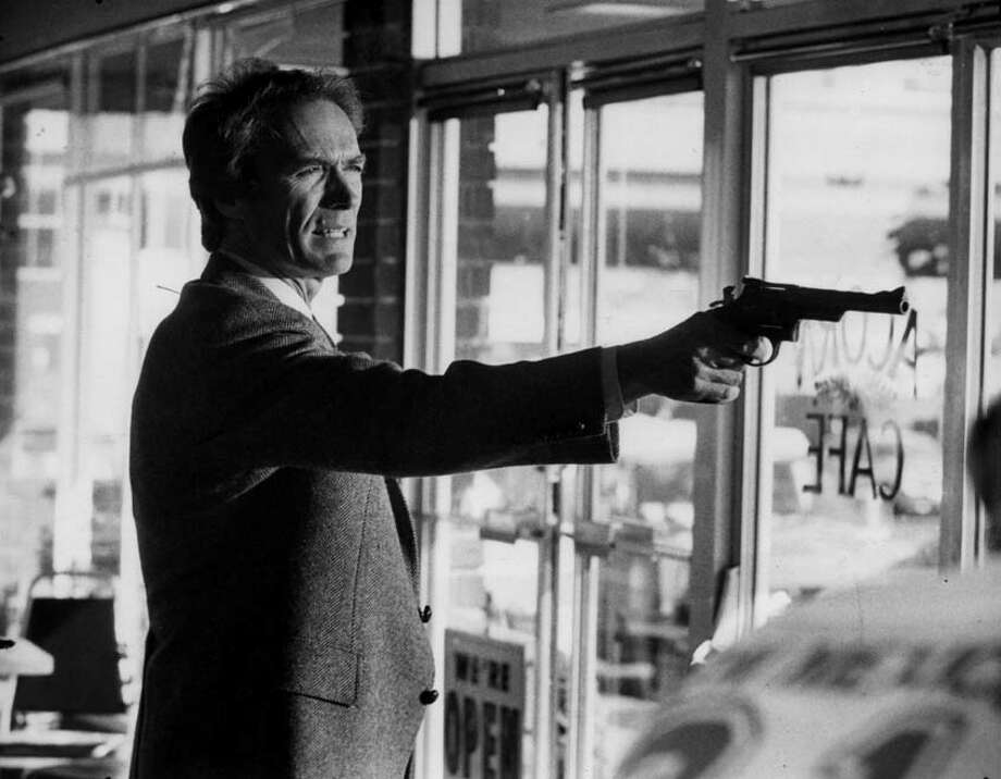 """Clint Eastwood in """"Dirty Harry"""""""