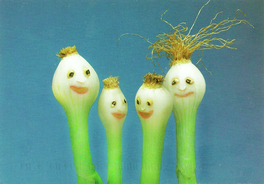 ''Scallion Haircut'' by photographer Saxton Freymann will serve as inspiration for the Westport Arts Center's Sunday, Sept. 30, ''WACky Family Day'' program focused on creating food-inspired art projects. Photo: Contributed Photo