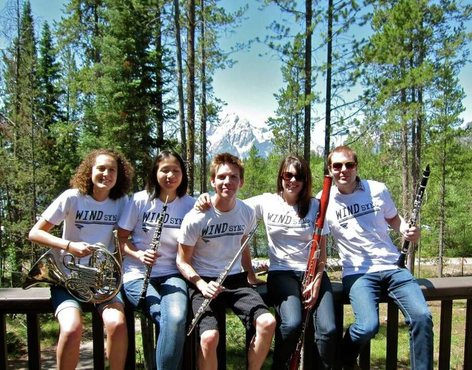 The woodwind quintet WindSync will play at the erev Yom Kippur service at the Houston Hillel Student Center, which serves students at colleges in Houston. .area. Photo: Courtesy Photo