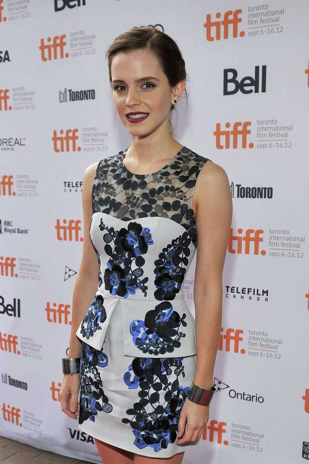 "TORONTO, ON - SEPTEMBER 08:  Actress Emma Watson attends ""The Perks Of Being A Wallflower"" premiere during the 2012 Toronto International Film Festival at Ryerson Theatre on September 8, 2012 in Toronto, Canada.  (Photo by Sonia Recchia/Getty Images) Photo: Sonia Recchia / 2012 Getty Images"