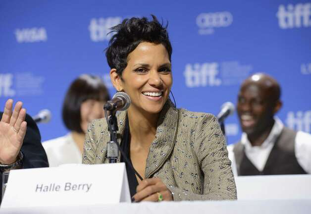 "TORONTO, ON - SEPTEMBER 09:  Actress Halle Berry speaks onstage at the ""Cloud Atlas"" Press Conference during the 2012 Toronto International Film Festival at TIFF Bell Lightbox on September 9, 2012 in Toronto, Canada.  (Photo by Jason Merritt/Getty Images) Photo: Jason Merritt / 2012 Getty Images"
