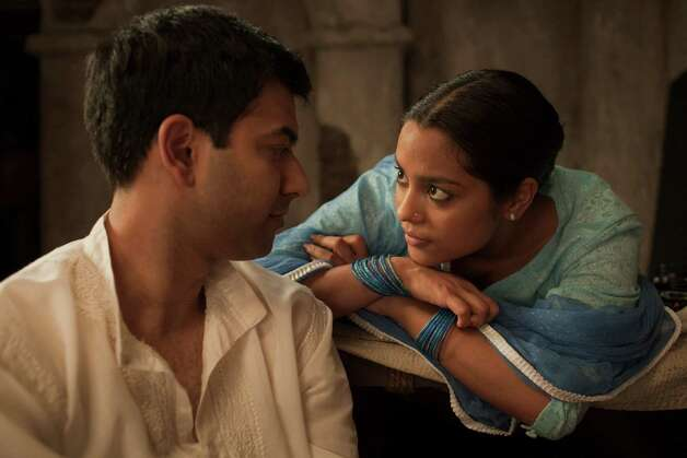 Zaib Shaikh and Shahana Goswami in Midnight's Children (Courtesy TIFF) Photo: Photographer: Dusty Mancinelli / Copyright:Dusty Mancinelli