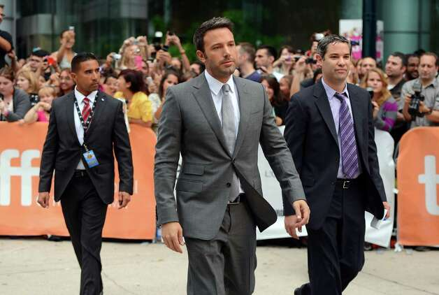 "TORONTO, ON - SEPTEMBER 07:  Actor/filmmaker Ben Affleck attends the ""Argo"" premiere during the 2012 Toronto International Film Festival at Roy Thomson Hall on September 7, 2012 in Toronto, Canada.  (Photo by Mark Davis/Getty Images) Photo: Mark Davis / 2012 Getty Images"