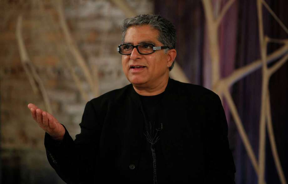 "Deepak Chopra tweeted - ""If you say 'yes' to #guncontrol then RT #yestoguncontrol"" Photo: Amy Sussman / AP Images"
