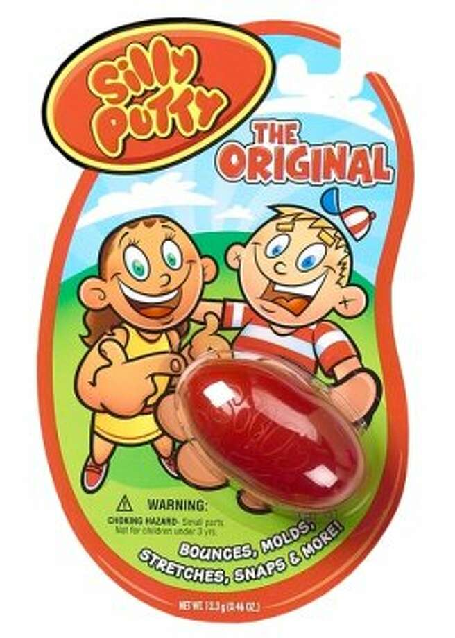 Silly Putty: Created in 1943; produced by Crayola LLC. (Screen grab )