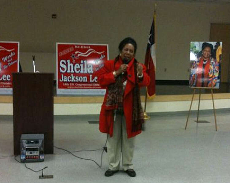 On the evening of her 2010 primary election victory.