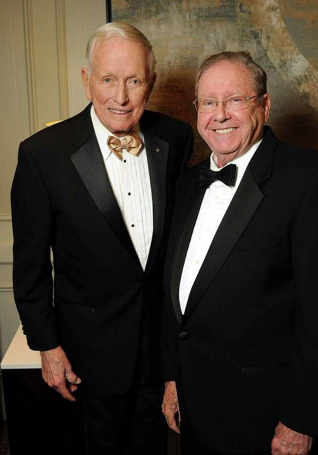 Dr. Denton Cooley and Dr. Richard Wainerdi Photo: Dave Rossman / © 2012 Dave Rossman