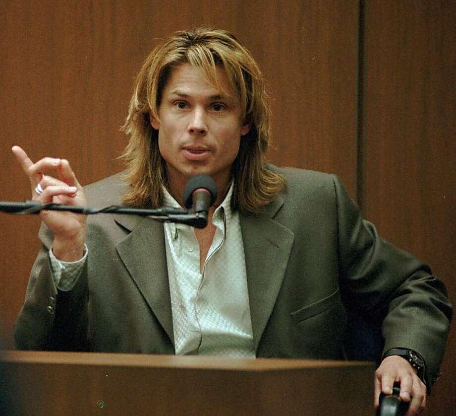 Kato Kaelin was a key witness at the O.J. Simpson  trial. Photo: John Mccoy, Associated Press
