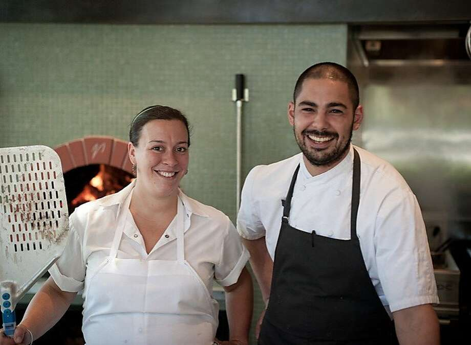 Liza Shaw and Louis Maldonado have put together an intriguing menu at Pizzando in the Hotel Healdsburg. Photo: Tod Brilliant