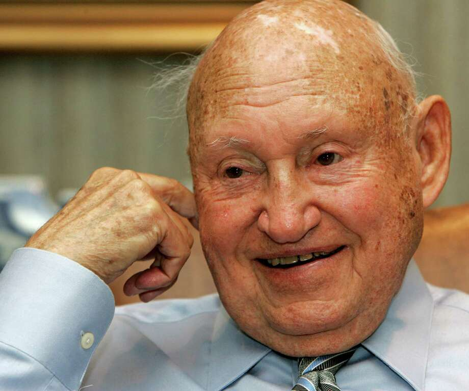 That's also the worth of Chick-Fil-A founder S. Truett Cathy. Photo: RIC FELD / AP