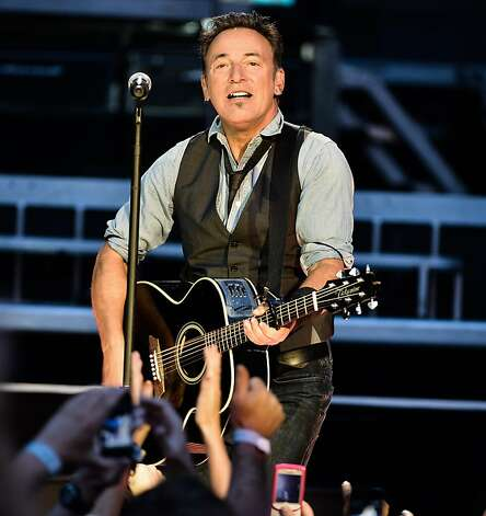 Bruce Springsteen Photo: George Pimentel, Getty Images