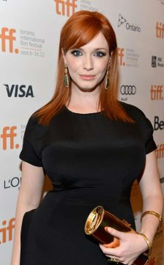 "Christina Hendricks in 2012, at the Toronto International Film Festival in September. She was at the premiere of ""Ginger & Rosa,"" a movie set in 1960s London and starring her and Elle Fanning.  (Alberto E. Rodriguez / Getty Images)"