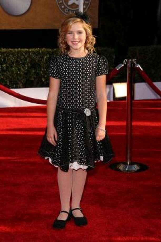 "Kiernan Shipka made her onscreen debut in ""ER"" at five months old, before appearing in many commercials and print ads. She's pictured in 2009 at the Screen Actors Guild Awards.  (Jason Merritt / Getty Images)"