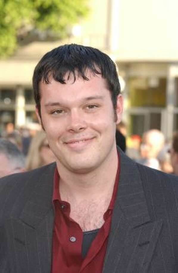 "Michael Gladis (""Paul Kinsey"") sports some serious bangs at  the 2002 premiere of ""K-19: The Widowmaker.""   (Getty Images)"