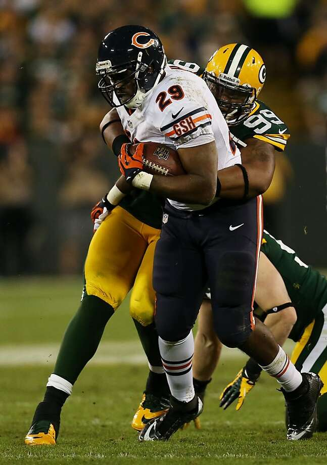 Michael Bush and his teams thrive when he carries the ball a lot. Photo: Jonathan Daniel, Getty Images