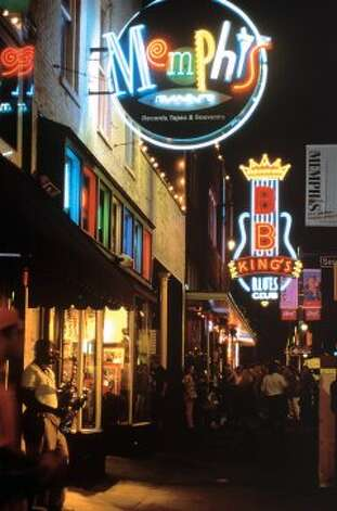 #9 Memphis: The pretty lights of Beale Street illuminate a city that's working on its dirty designation. (AP)