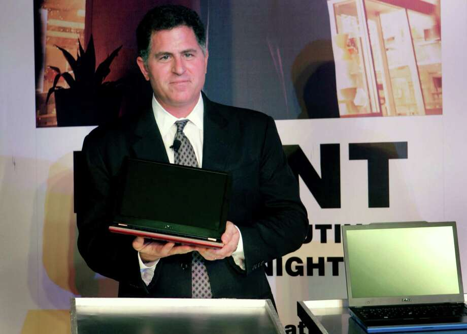 The chairman and CEO of Dell, Michael Dell, was a pre-med major at the University of Texas at Austin but dropped out to go high-tech. He is worth $14.6 billion, Forbes says. 