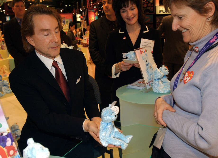 Ty Warner isn't a name you'll remember, but his product is. Warner created Beanie Babies after dropping out of Kalamazoo College. He is worth $2.4 billion, according to Forbes. (AP Photo/ Louis Lanzano) Photo: LOUIS LANZANO, DM / AP