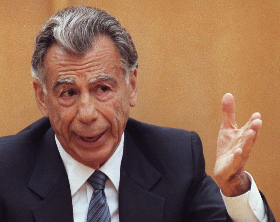 Kirk Kerkorian probably doesn't ring any bells, but he is one of the men who helped build Las Vegas into the mega resort town that it is today. Unlike some of the others on this list, Kerkorian never even attended college. He is worth $2.9 billion, according to Forbes. 