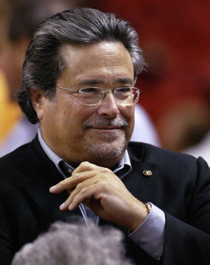 Micky Arison, owner of the Miami Heat, dropped out of the University of Miami after his freshman year. He went on to build Carnival Cruises. He is worth $5 billion, according to Forbes. 