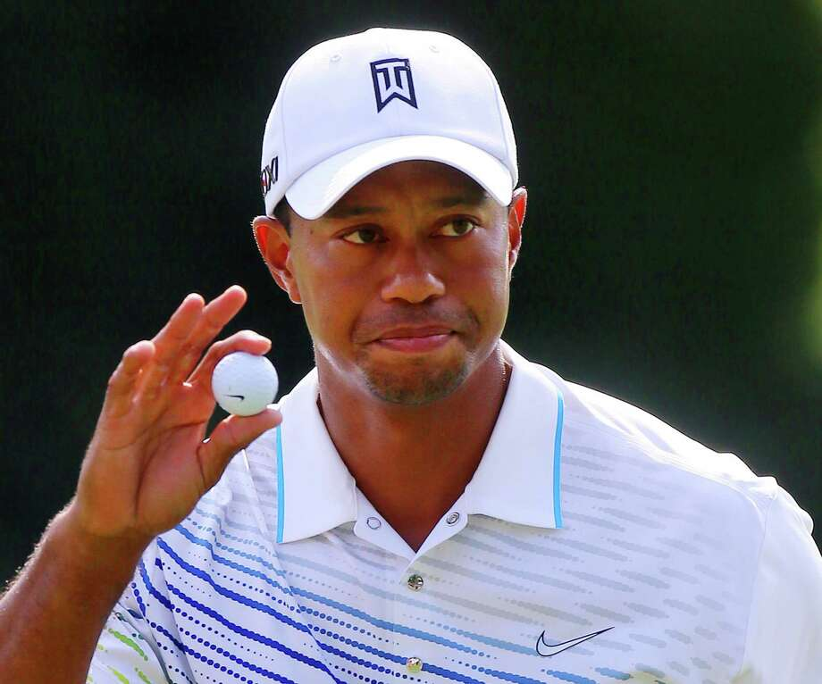 Tiger Woods attended Stanford, but he never got his degree. He left school to go play professional golf, and he is now worth $59.4 million, according to Forbes. (Curtis Compton/Atlanta Journal-Constitution/MCT) Photo: CURTIS COMPTON, DM / Atlanta Journal-Constitution