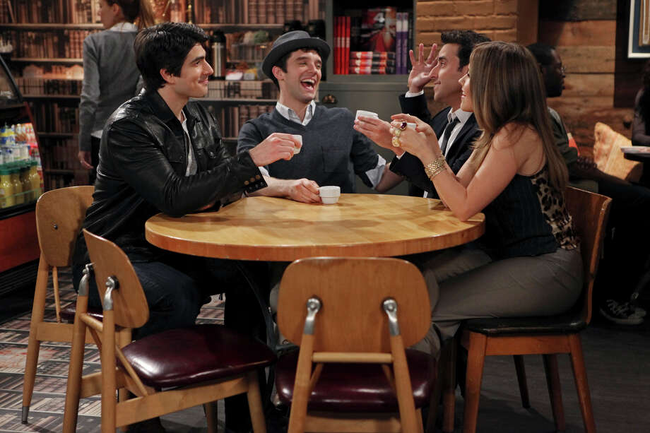 "Brandon Routh, from left, Michael Urie, David Krumholtz and Sophia Bush star in ""Partners,"" a new comedy from the creators of ""Will & Grace"" premiering Monday on CBS. Photo: Matt Kennedy / ONLINE_YES"