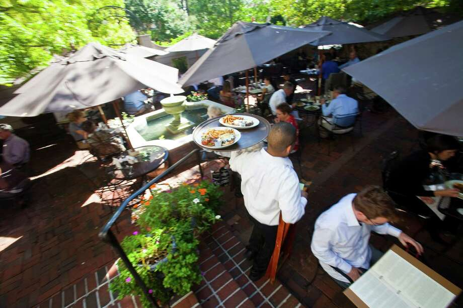 Houston's cool front will usher in patio weather a little early.>>See where to dine and drink on a patio in Houston. Photo: Eric Kayne / Freelance