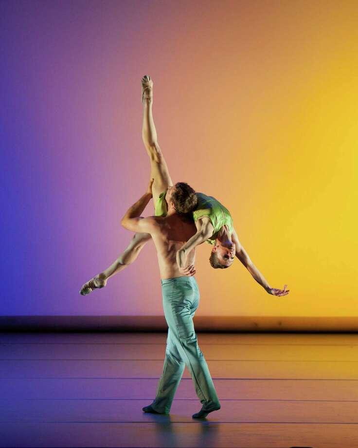 "Aspen Santa Fe Ballet will perform Jorma Elo's ""Over Glow"" at Wortham Theater Center. Photo: Sharen Bradford"
